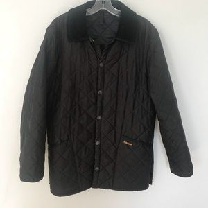 Barbour Eskdale quilted barn jacket coat XS S